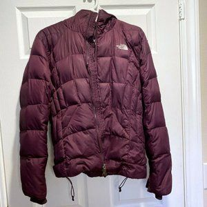 The North Face Women's Purple Down Puffer Snow